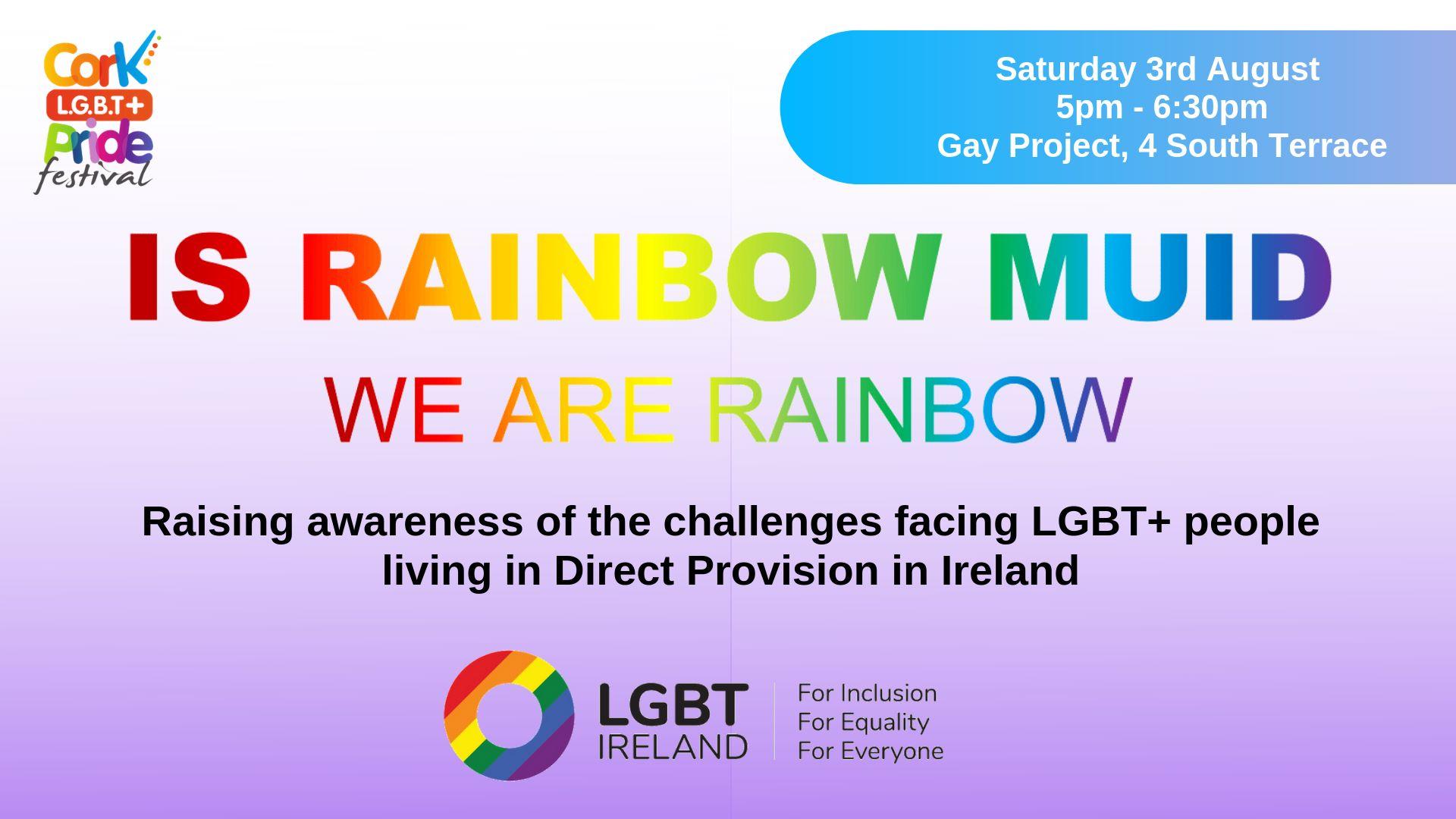 Is Rainbow Muid Lgbt In Direct Provision Cork Pride Festival